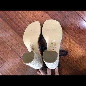 rag & bone Shoes - Rag & Bone Eden Block Heel Espadrille Sandals
